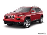 Options:  2014 Jeep Cherokee Latitude|Silver|A Great
