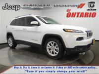 Options:  2014 Jeep Cherokee Latitude|Bright White