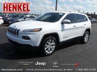 Options:  2014 Jeep Cherokee Latitude|Bright White