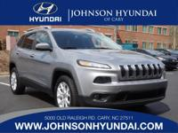 2014 Jeep Cherokee Latitude and Local Trade. Isn't it