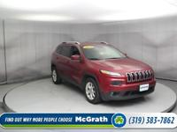 All the right toys!!! This powerful 2014 Jeep Cherokee