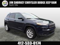 2014 Jeep Cherokee Latitude New Price! Certified.