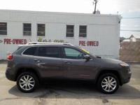2014 Jeep Cherokee Limited 3.2L V6 If you have any