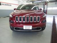 2014 Jeep Cherokee Limited 4WD, Clean CARFAX. Local