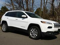 Cherokee Limited, 3.2L V6, GPS Navigation, and Power