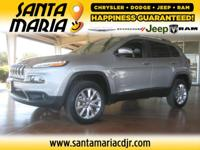 Options:  2014 Jeep Cherokee Limited 4Wd|One Owner.