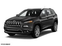 Options:  2014 Jeep Cherokee Limited 4X4|Step Into The