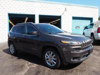 Recent Arrival! 2014 Jeep Cherokee Limited Certified.