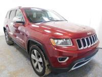 New Price! Grand Cherokee Limited Deep Cherry Red