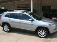 Only 42,000 miles on this gorgeous 2014 Jeep Cherokee