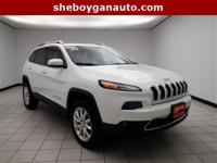 Bright White Clearcoat 2014 Jeep Cherokee Limited **