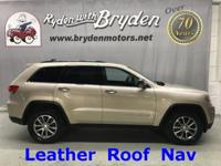 Jeep Grand Cherokee / Limited / 3.6L V6 / 4x4 / Heated