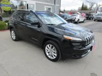 Clean Title. 2014 Jeep Cherokee Limited, panoramic