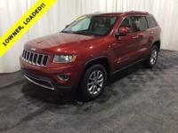 2014 Jeep Grand Cherokee Limited ** 1-OWNER **, ** REAR