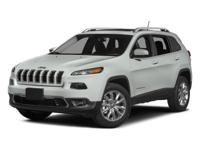 2014 Jeep Cherokee Bright White Clearcoat  CARFAX