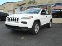 Step into the 2014 Jeep Cherokee! Worthy equipment and