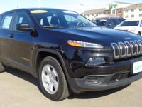 This 2014 Jeep Cherokee Sport is for Jeep lovers the