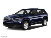 2014 Jeep Cherokee Sport New Price! CARFAX One-Owner.