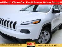 Jeep Cherokee Sport 2014 Certified. Chrysler Group
