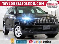 Priced below KBB Fair Purchase Price!  Black 2014 Jeep