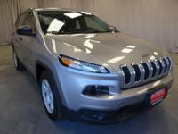 Come see this 2014 Jeep Cherokee Sport. Its Automatic