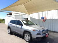 Load your family into the 2014 Jeep Cherokee! A