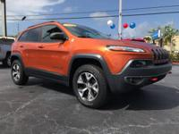 Look at this 2014 Jeep Cherokee Trailhawk. Its