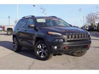 Recent Arrival!   2014 Jeep Cherokee Trailhawk 4WD