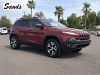 CARFAX One-Owner. 2014 Jeep Cherokee Trailhawk 3.2L V6