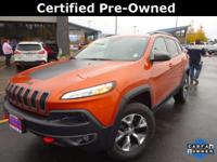 CARFAX One-Owner. Certified. *JEEP CERTIFIED*, *ONE