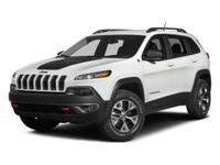 Options:  2014 Jeep Cherokee Trailhawk|Rhino/Black|V6