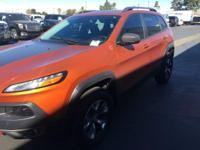 Check out this 2014 Jeep Cherokee Trailhawk. Its