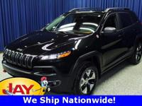 Options:  2014 Jeep Cherokee Trailhawk|Black|Trailhawk