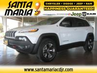 Options:  2014 Jeep Cherokee Trailhawk 4Wd|**New