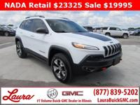 1-Owner New Vehicle Trade! Trailhawk 3.2 V6 4x4. Heated