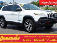 CARFAX One-Owner. This 2014 Jeep Cherokee Trailhawk in