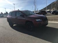 This 2014 Jeep Compass comes with 4WD and is at a great