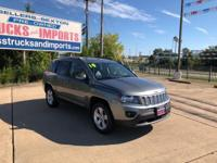 This 2014 Jeep Compass Latitude is offered to you for