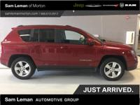 2014 Jeep Compass Latitude 4X4 in Deep Cherry Red