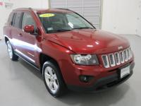 New Price! 2014 Jeep Compass Latitude Deep Cherry Red
