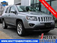 CARFAX One-Owner. Certified. Silver 2014 Jeep Compass