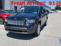 CARFAX One-Owner. Black Clearcoat 2014 Jeep Compass