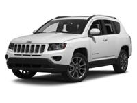 Options:  2014 Jeep Compass Latitude|/|V4 2.0 L