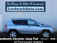 2014 Jeep Compass Latitude Billet Silver Metallic