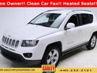 Jeep Compass Latitude 2014 CARFAX One-Owner. Heated