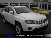 Options:  2014 Jeep Compass Latitude|Bright White