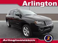 Options:  2014 Jeep Compass Latitude|Black|Carfax