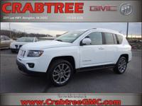 Options:  2014 Jeep Compass Limited|4X4 Limited 4Dr