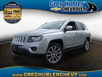 CARFAX One-Owner. Silver 2014 Jeep Compass Limited 4x4