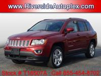 2014 Jeep Compass Limited in Deep Cherry Red Crystal